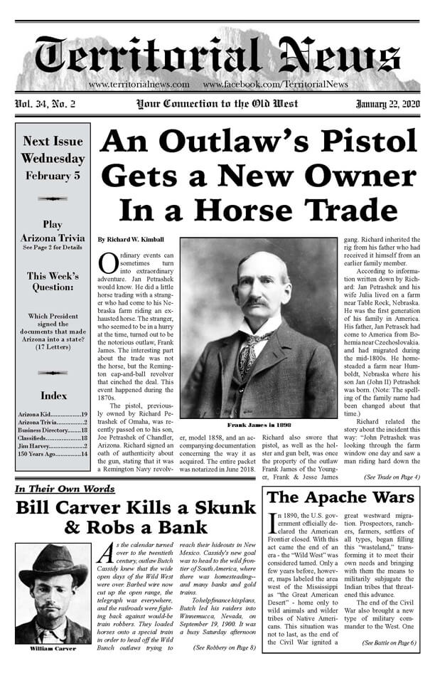 An Outlaws Pistol Gets a New Owner In a Horse Trade